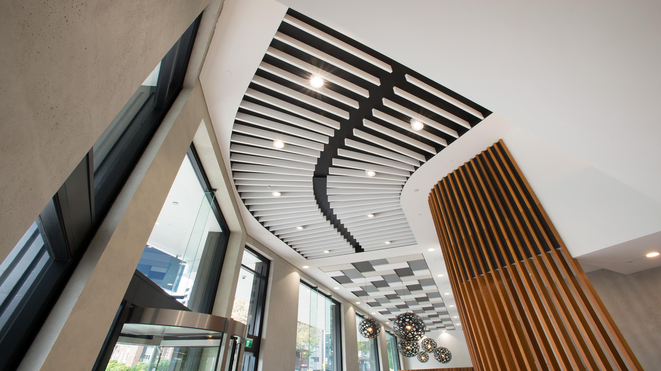 55 Symonds St Unilodge- Triton Baffle Beam
