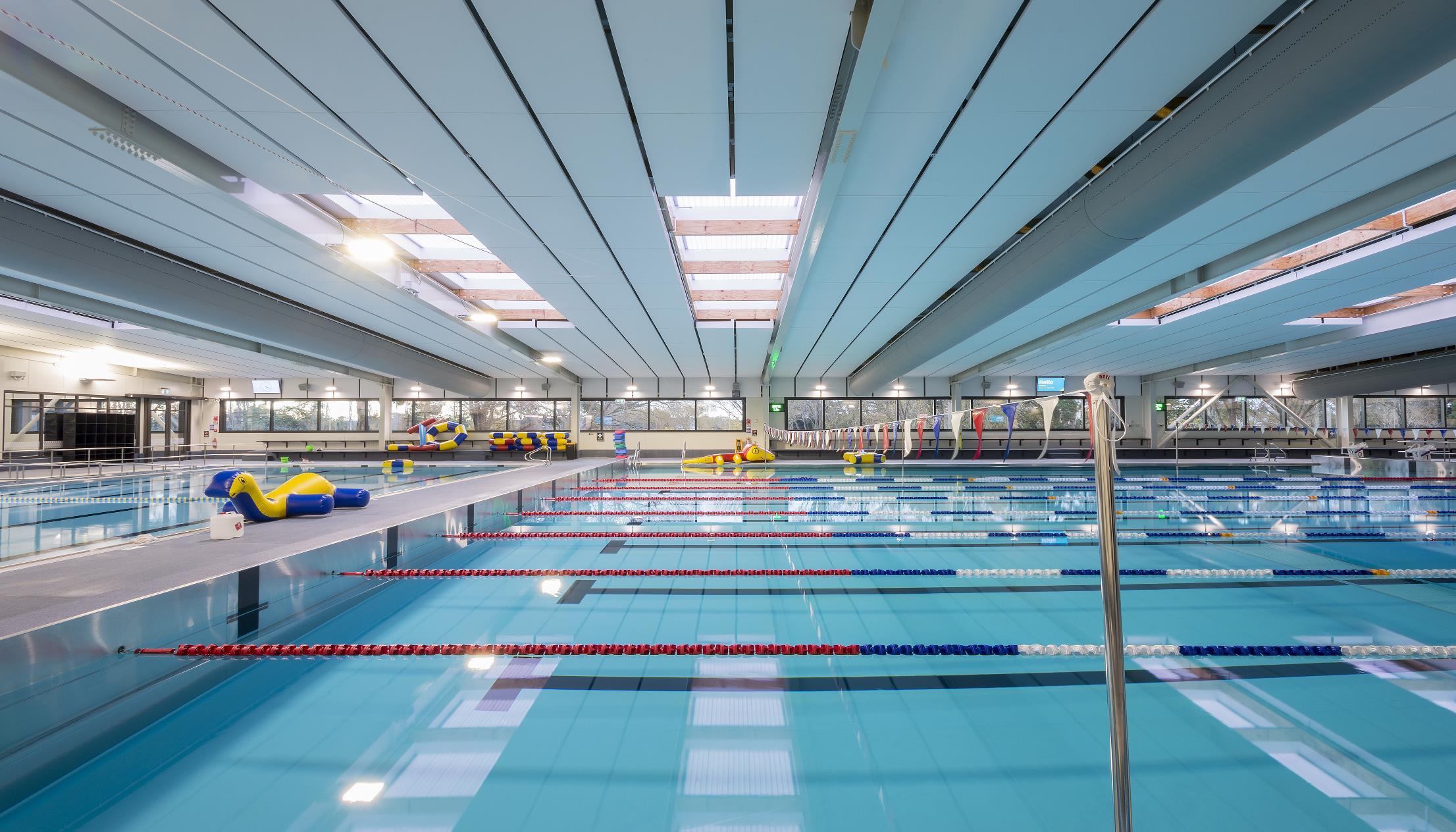QEII Park & Recreation Centre - Triton Pool Panel