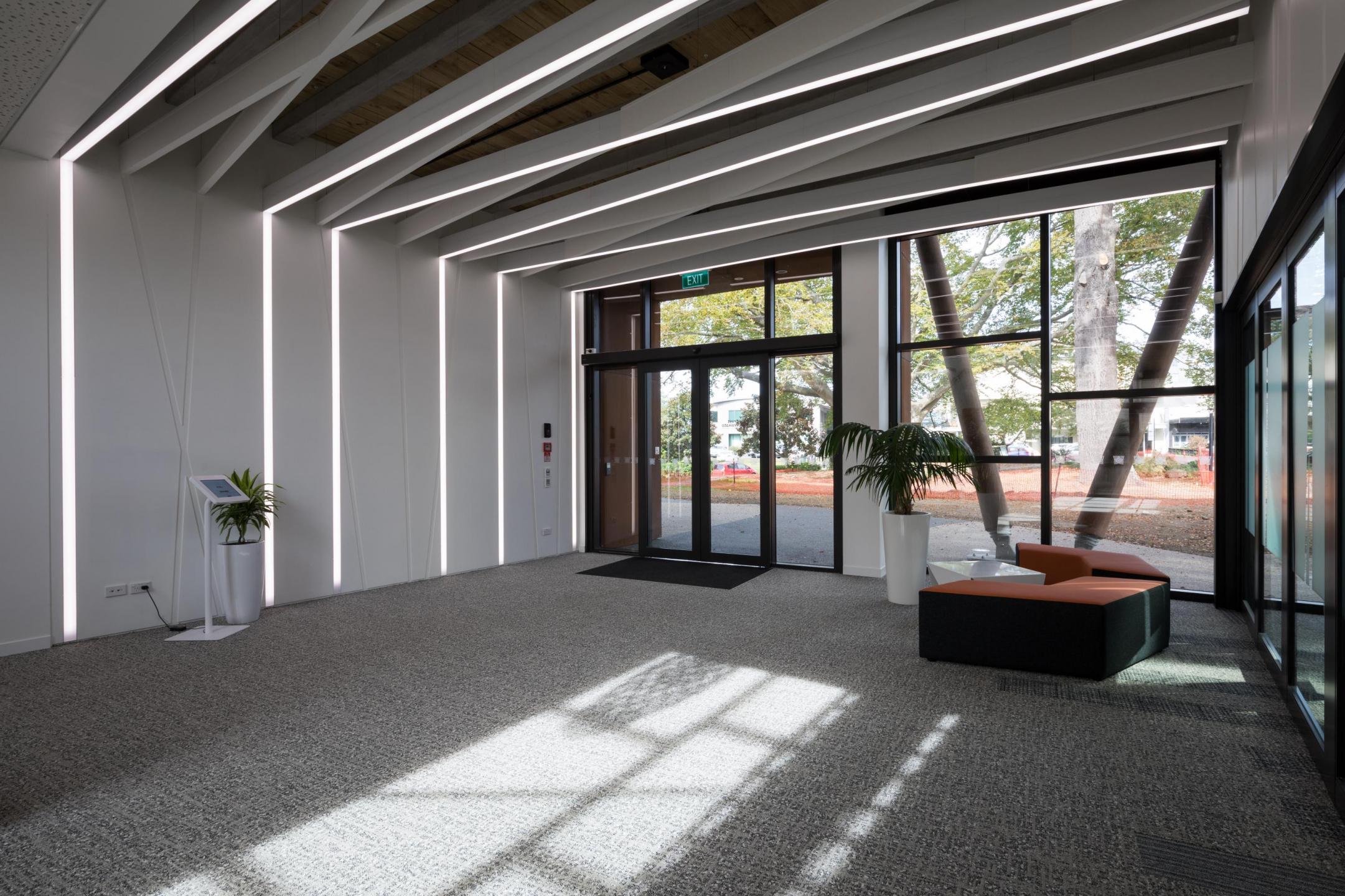 Trust Waikato Reception - Triton Baffle Beam