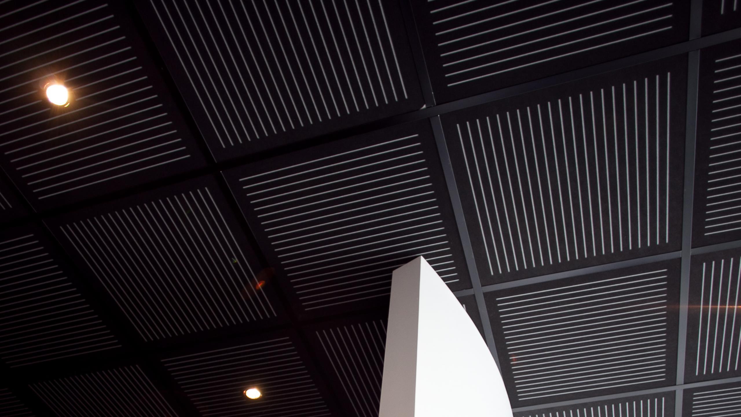 Air NZ- Hangar 9 Exhibition Centre - Sonaris S4, black on grey