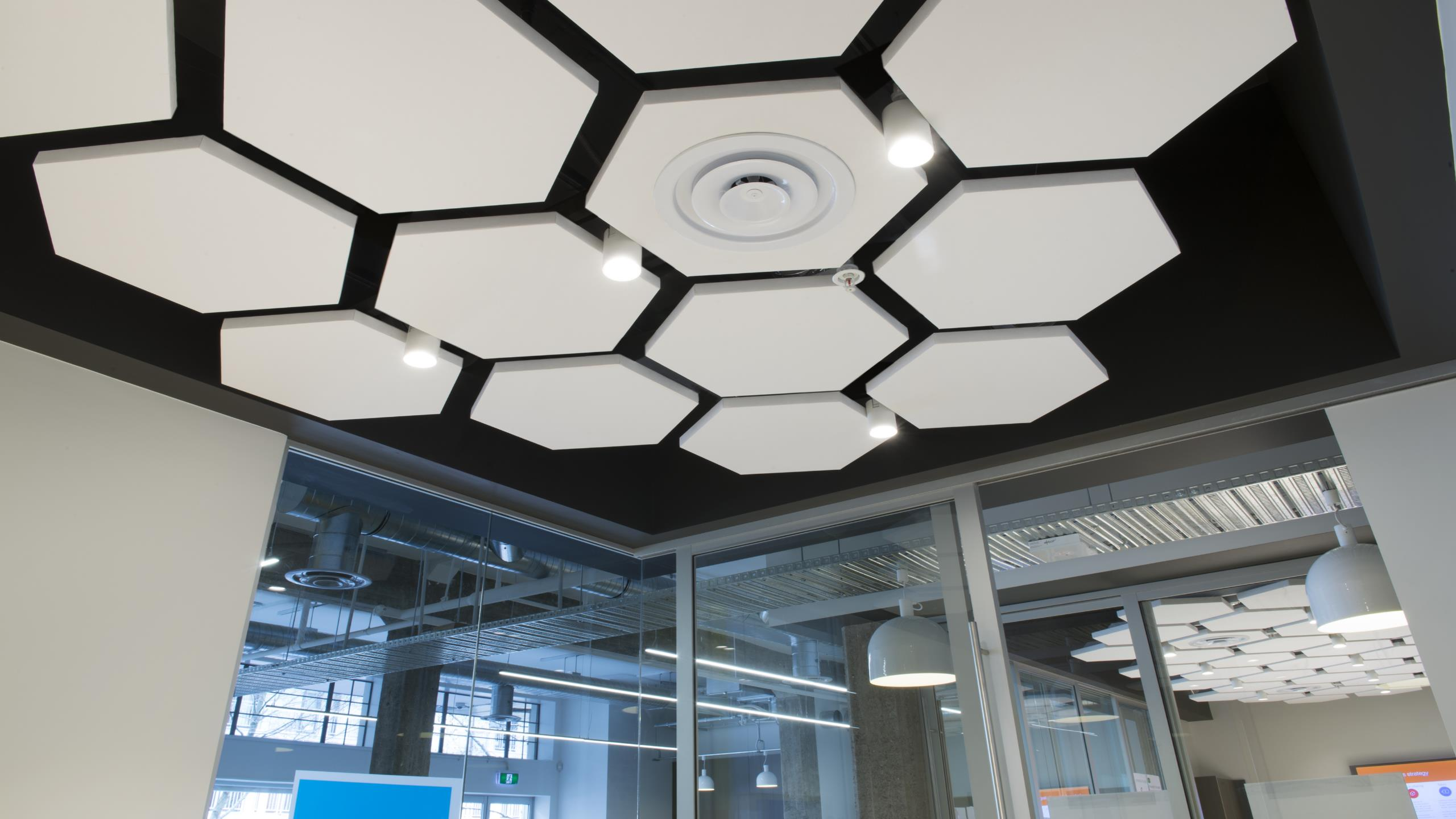 Jade Offices - Triton Sound Shapes, Hexagons