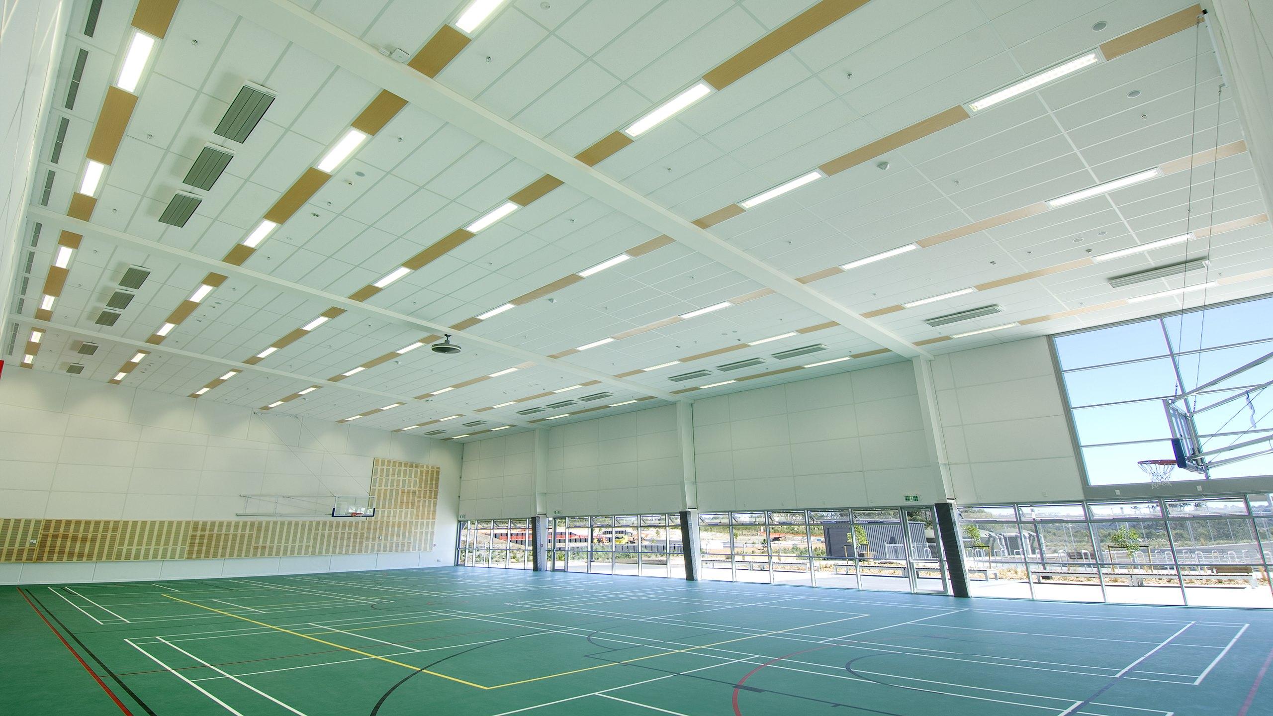 Hobsonville Secondary School Gym - Triton Sports