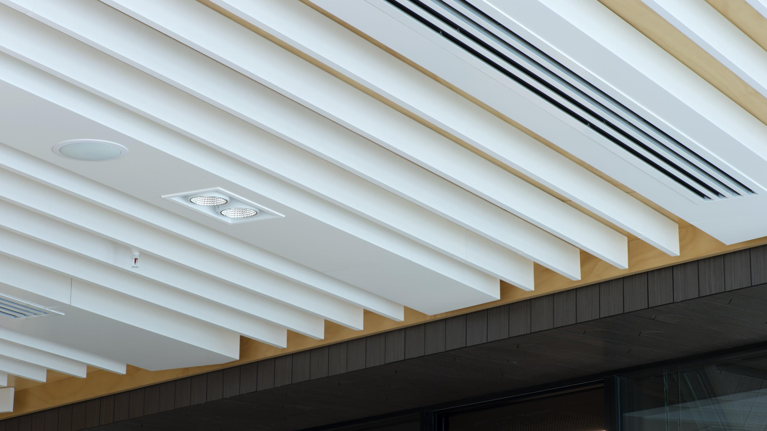 Meredith Connell - Ridgeline Ceiling Fin System