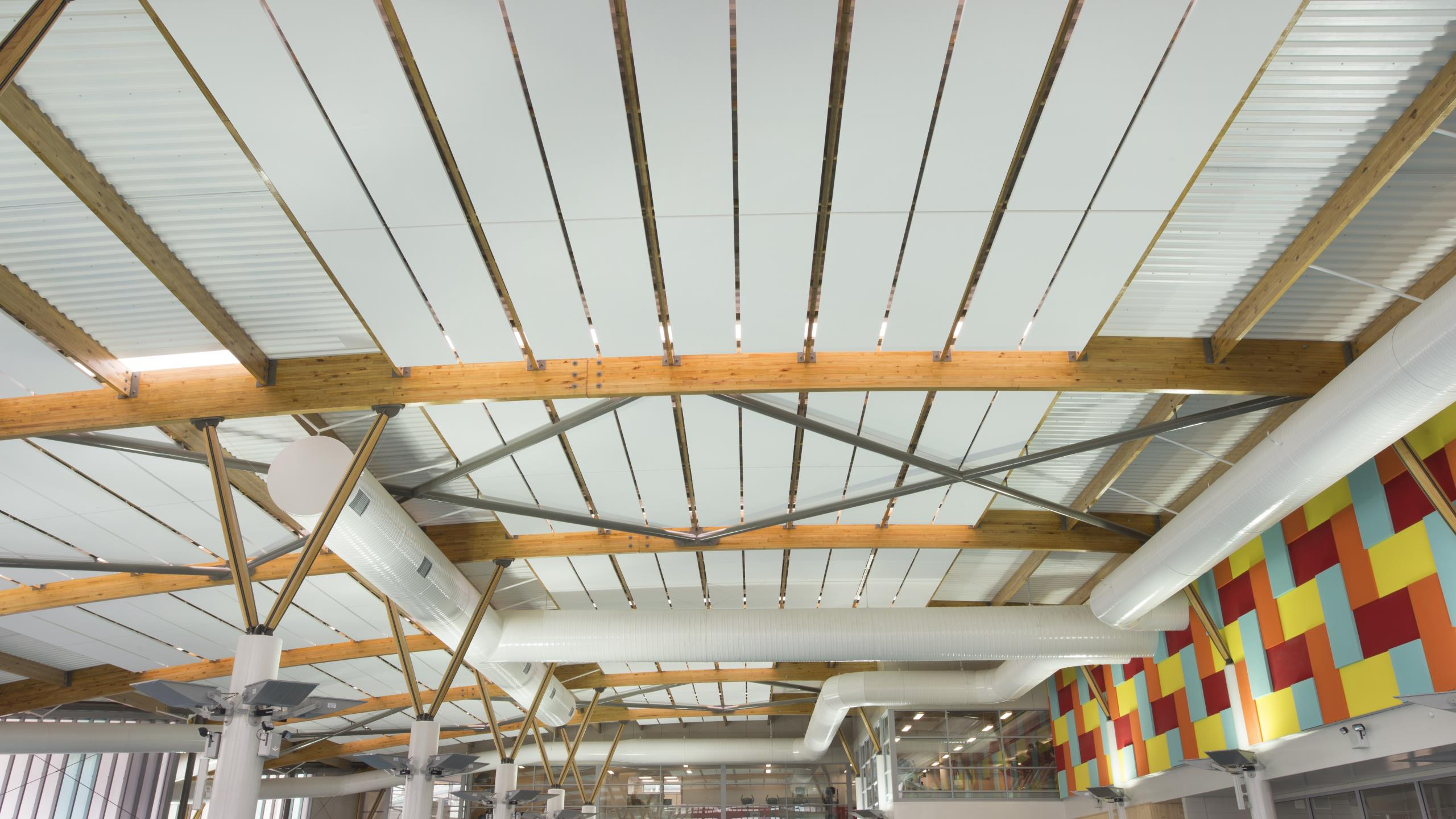 Otahuhu Recreational Precinct - Triton Pool ceiling panels