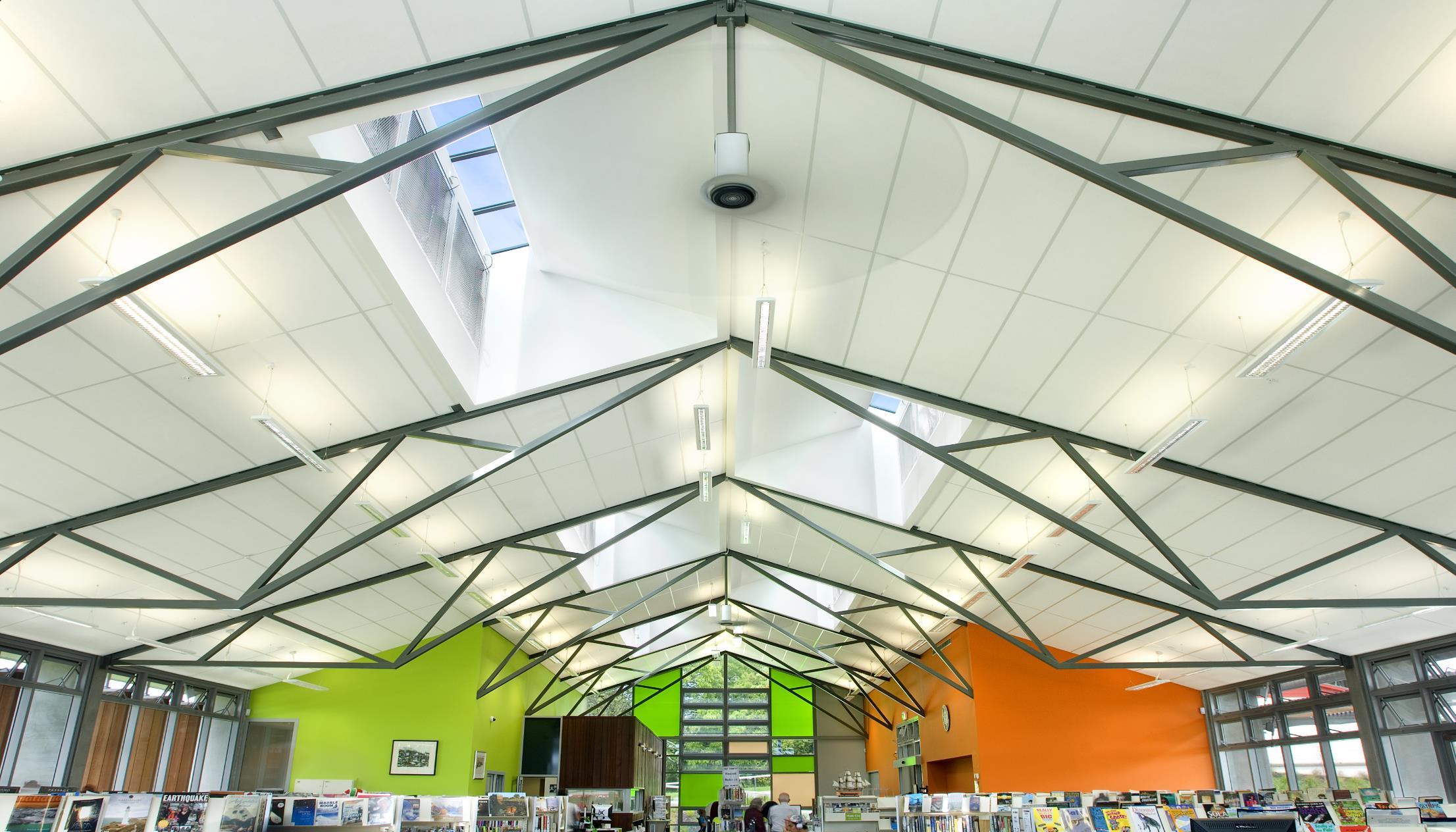 Wellsford Library - Triton 25 plank