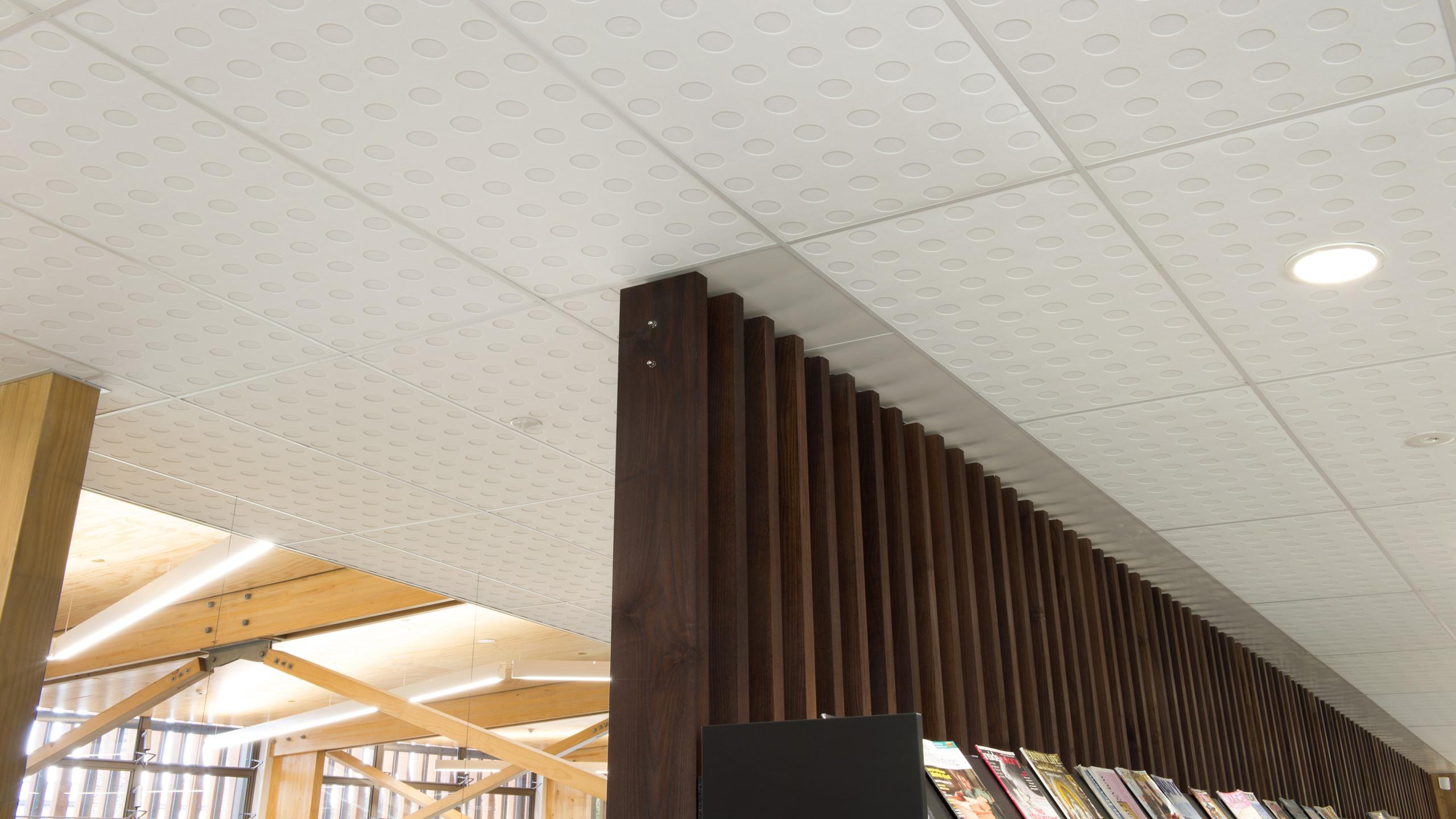 Devonport Library - Sonaris Ceiling Tiles